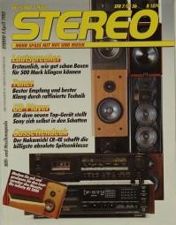 Stereo 4/1988 Zeitschrift