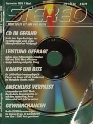 Stereo 9/1988 Zeitschrift
