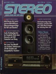 Stereo 4/1989 Zeitschrift