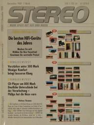 Stereo 12/1989 Zeitschrift