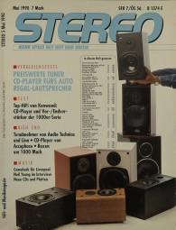 Stereo 5/1990 Zeitschrift