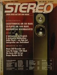 Stereo 9/1990 Zeitschrift