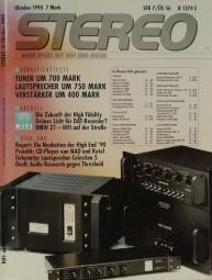 Stereo 10/1990 Zeitschrift