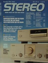 Stereo 11/1990 Zeitschrift