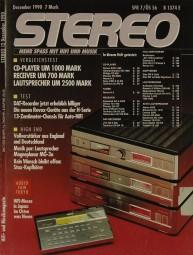 Stereo 12/1990 Zeitschrift