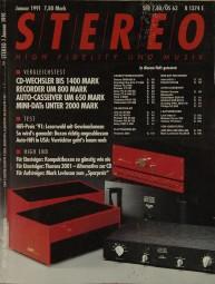 Stereo 1/1991 Zeitschrift