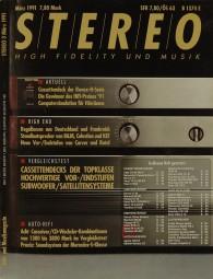 Stereo 3/1991 Zeitschrift