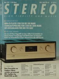 Stereo 5/1991 Zeitschrift