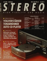 Stereo 7/1991 Zeitschrift