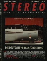 Stereo 11/1991 Zeitschrift