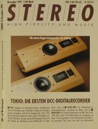 Stereo 12/1991 Zeitschrift
