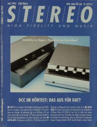 Stereo 7/1992 Zeitschrift