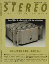 Stereo 10/1992 Zeitschrift
