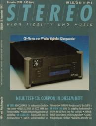 Stereo 12/1992 Zeitschrift