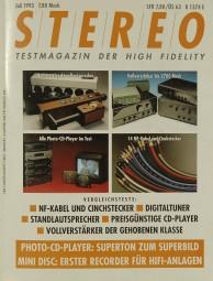 Stereo 7/1993 Zeitschrift