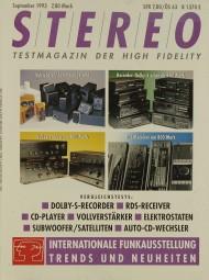 Stereo 9/1993 Zeitschrift