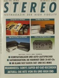 Stereo 10/1993 Zeitschrift