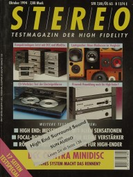 Stereo 10/1994 Zeitschrift