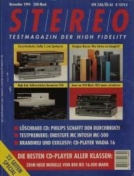 Stereo 11/1994 Zeitschrift