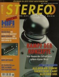 Stereo 6/1995 Zeitschrift