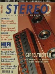 Stereo 5/1996 Zeitschrift