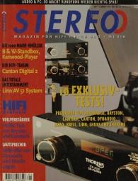 Stereo 1/1997 Zeitschrift