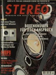 Stereo 2/1997 Zeitschrift