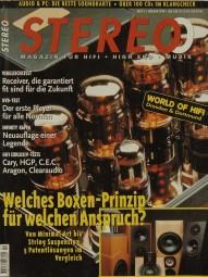 Stereo 2/1998 Zeitschrift