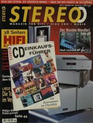 Stereo 11/1998 Zeitschrift