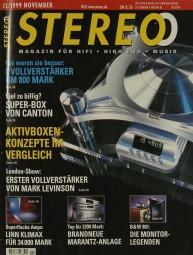 Stereo 11/1999 Zeitschrift