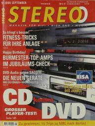 Stereo 9/2000 Zeitschrift