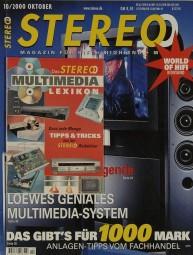 Stereo 10/2000 Zeitschrift