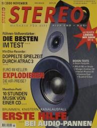 Stereo 11/2000 Zeitschrift