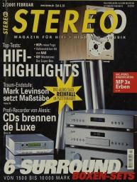Stereo 2/2001 Zeitschrift