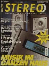 Stereo 5/2001 Zeitschrift