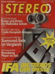 Stereo 9/2001 Zeitschrift