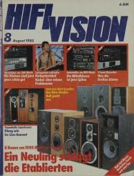 Hifi Vision 8/1985 Zeitschrift