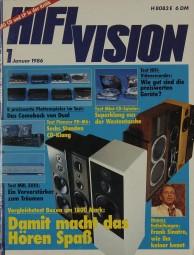 Hifi Vision 1/1986 Zeitschrift