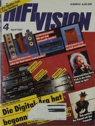 Hifi Vision 4/1987 Zeitschrift