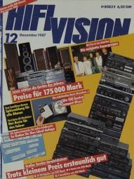 Hifi Vision 12/1987 Zeitschrift