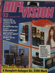 Hifi Vision 12/1989 Zeitschrift