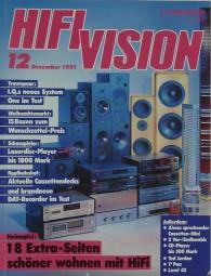 Hifi Vision 12/1991 Zeitschrift