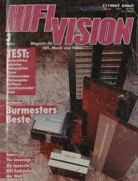Hifi Vision 3/1992 Zeitschrift