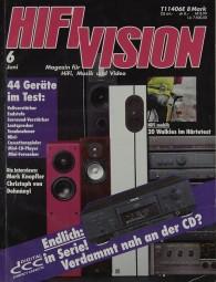 Hifi Vision 6/1992 Zeitschrift