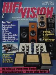 Hifi Vision 7/1992 Zeitschrift