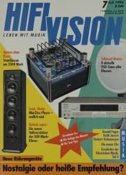 Hifi Vision 7/1993 Zeitschrift