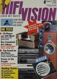 Hifi Vision 8/1993 Zeitschrift
