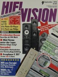 Hifi Vision 9/1993 Zeitschrift