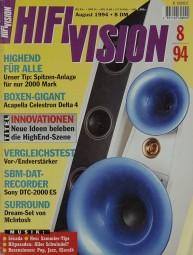Hifi Vision 8/1994 Zeitschrift