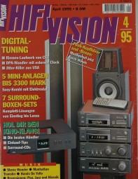 Hifi Vision 4/1995 Zeitschrift